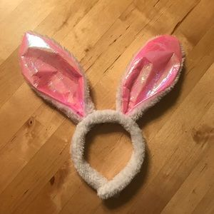 FREE WITH ANY PURCHASE white rabbit/bunny ears